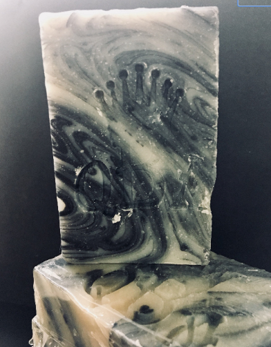 WITCHES BREW • Charcoal Swirl Cold Process Soap