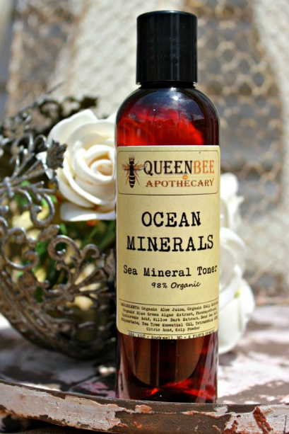 Ocean Mineral Toner - 98% Organic