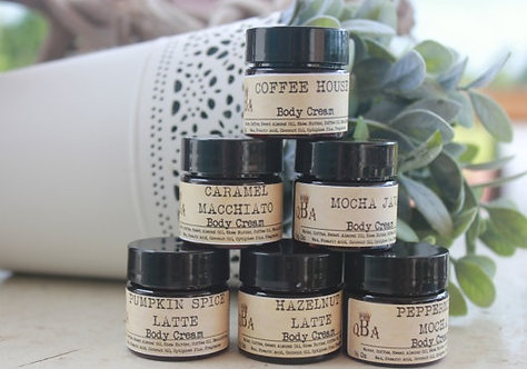 COFFEE LOVERS 6 Pack Body Cream