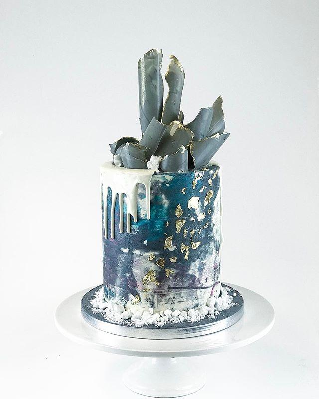 🌏 Earth hour cake