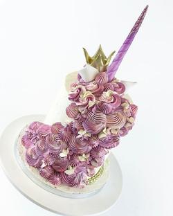 Purple glam unicorn 🦄 violetti yksisarvinen