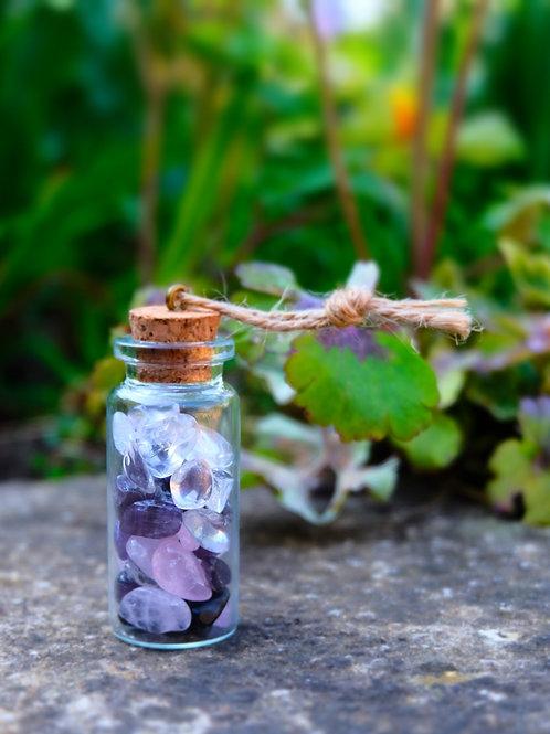 A little bottle of crystal magic