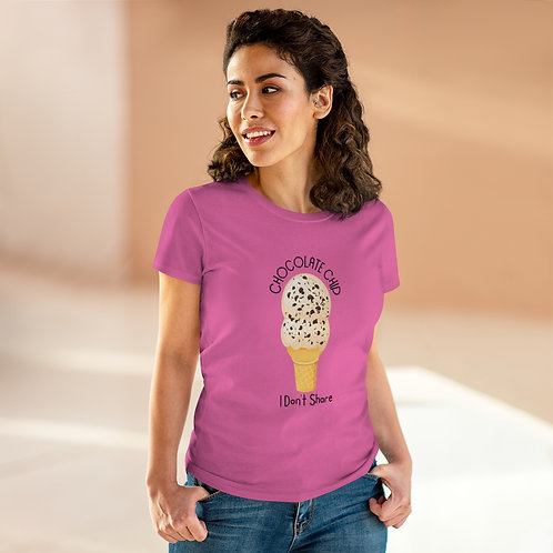 Women's Heavy Cotton Tee Ice Cream