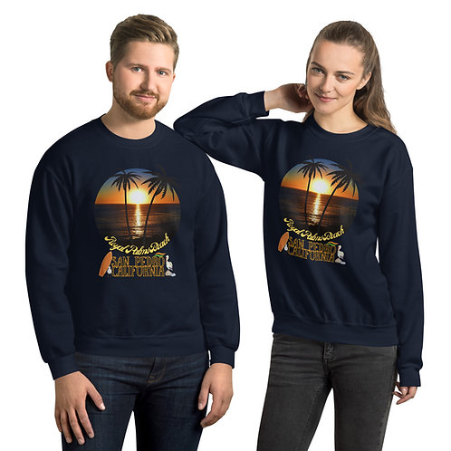 San Pedro California Sweatshirt | Royal Palms Beach Logo Men And Women