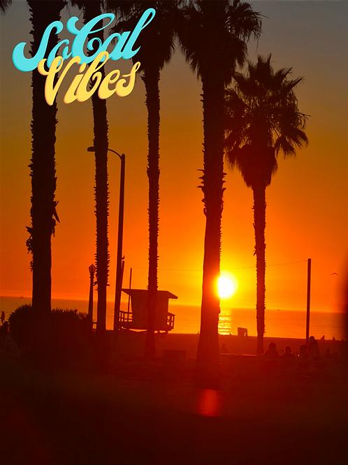 Note Card So Cal Vibes Santa Monica CA By Concetta Ellis