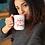 Thumbnail: Embrace The Journey | Inspirational Mug | Positive Quote | Red + White Mug |