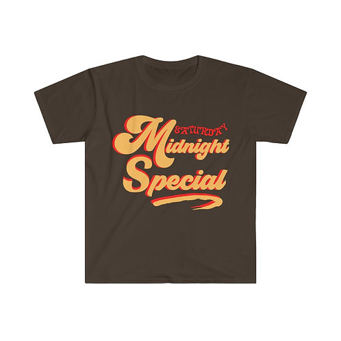 70s Rock N Roll Tees | Saturday Midnight Special | Nostalgic T-Shirt | 8 Colors