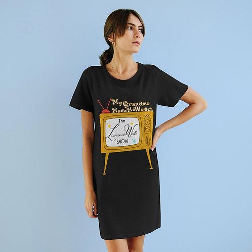 Organic T-Shirt Dress   Retro Yesteryears