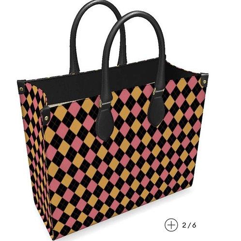 Leather Shopper's Bag