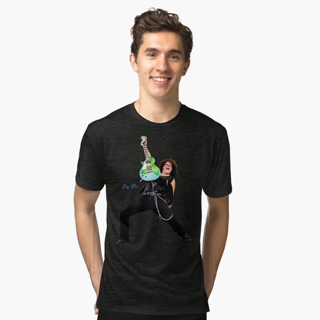 T-Shirt Black Rock N Roll Jeff Ellis Gui