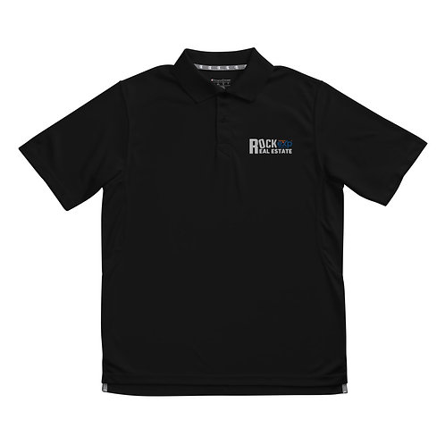 Rock To Real Estate Men's Champion performance polo
