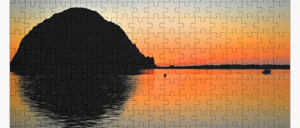 Morro Bay Jigsaw Puzzle by Concetta Elli