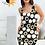 Thumbnail: Black Spandex Dress Stars And Circles