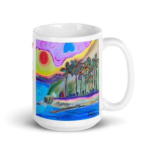 Mug San Pedro California Royal Palms Beach Hidden Gem By Concetta Ellis