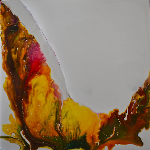 "Note Card Painting Abstract ""NATURE"" By Concetta Ellis"