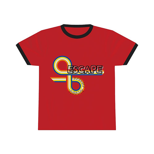 Escape The Journey Tribute Band Retro Unisex Ringer Tee