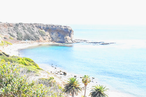 "Note Card Photography ""ABALONE COVE Rancho Palos Verdes"" By Concetta Ellis"