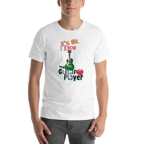 It's Ok I Know The Guitar Player Short-Sleeve Unisex Retro T-Shirt