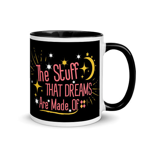 Retro Mug with Color Inside Positive Quote