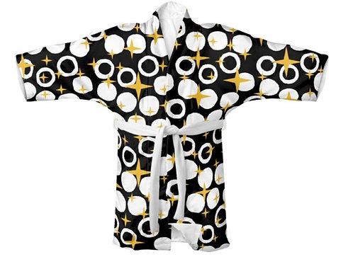 Kimono Stars And Moons Mid-Century Design