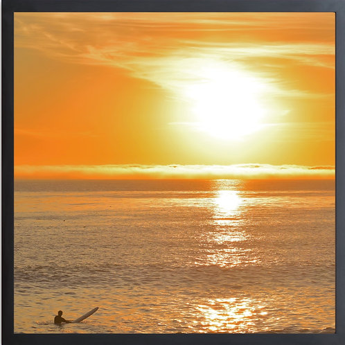 SUNSET SOLO SURFER  Photography By Concetta Ellis