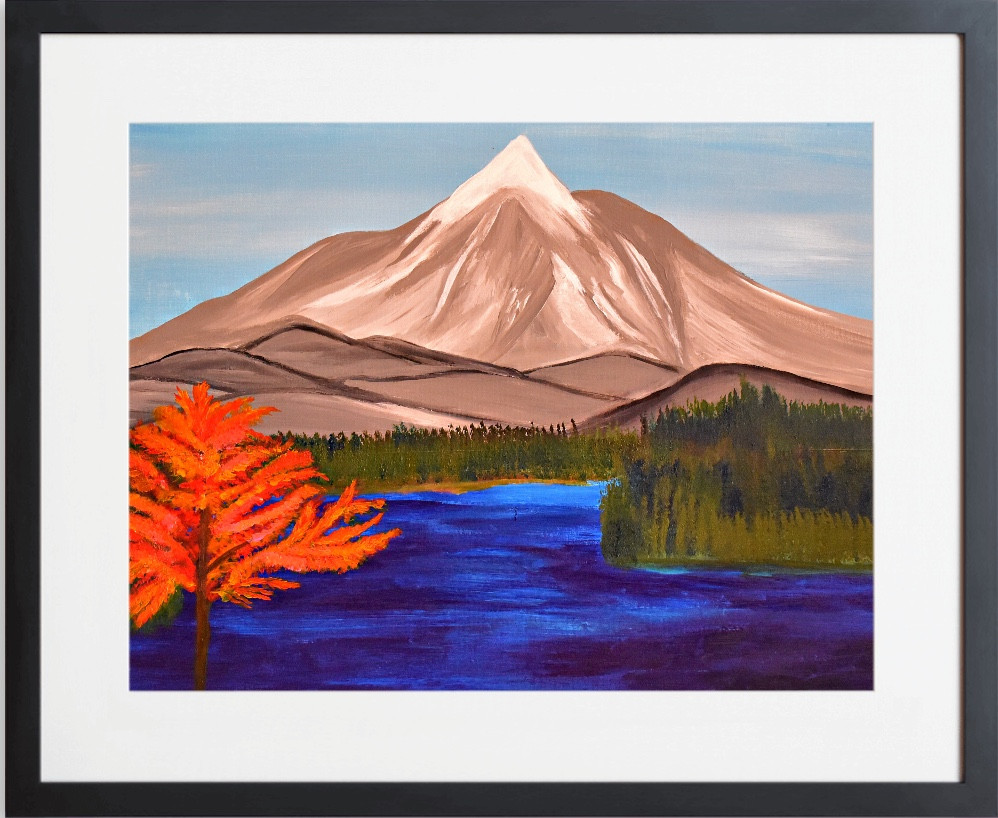 MOUNTAIN TOP FALL BY CONCETTA ELLIS