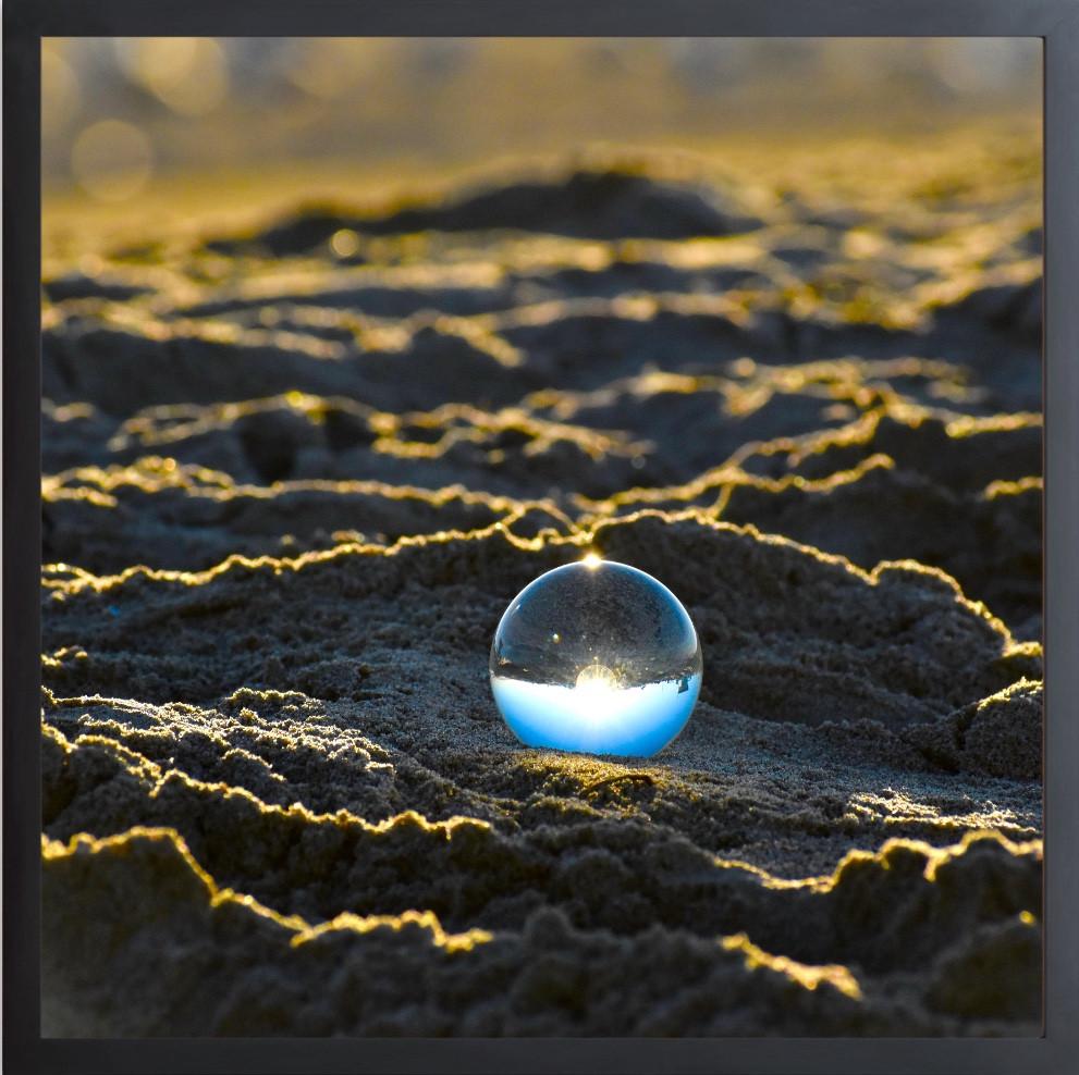 GLASS BALL SUNRISE & SAND