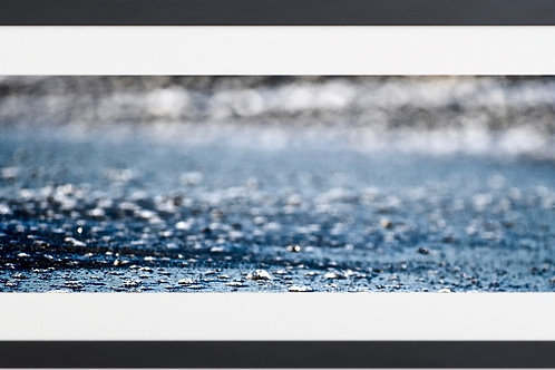 Framed Ocean Drops By Concetta Ellis