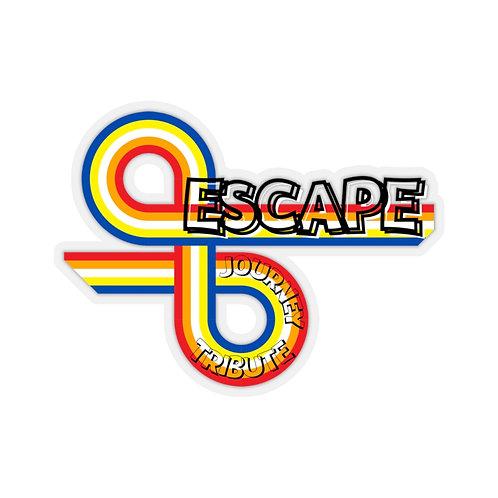 Escape Journey Tribute Band Kiss-Cut Stickers