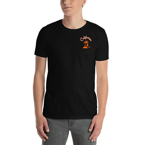 California Short-Sleeve T-Shirt Unisex | Surf T Gildan