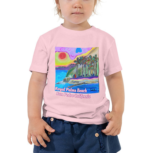 San Pedro California Toddler Short Sleeve Tee
