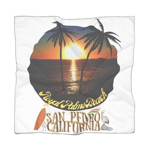 San Pedro California Scarf   Summer Scarf   San Pedro Ca Souvenir