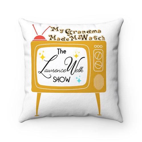 Pillow   Retro Square Pillow   Retro TV Show