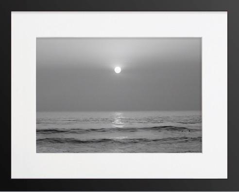 Black & White Sunset San Pedro CA Photography By Concetta Ellis