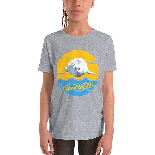 White Seal San Pedro California Youth Short Sleeve T-Shirt