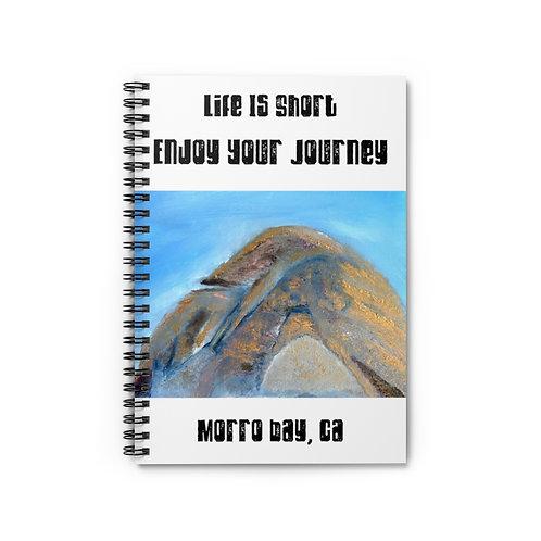 Morro Bay, California | Notebook | Morro Bay Rock | Plein Oil Painting