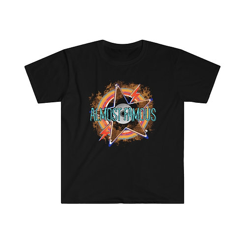 Rock N Roll T-Shirts | Men And Women Soft Tees | Almost Famous Retro T-Shirt