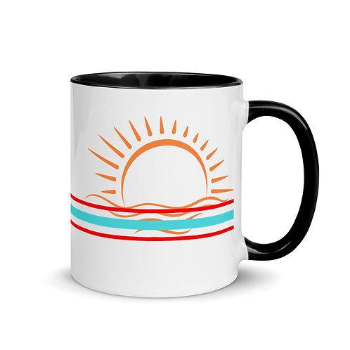Good Vibes Mug with Color Inside