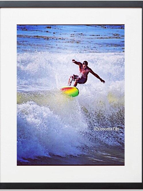 SURF 01 San Pedro Ca  Photography By Concetta Ellis