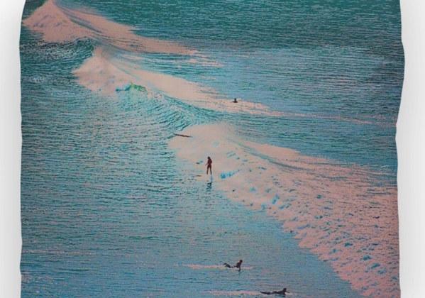 Duvet Cover Lunada Bay Palos Verdes Phot