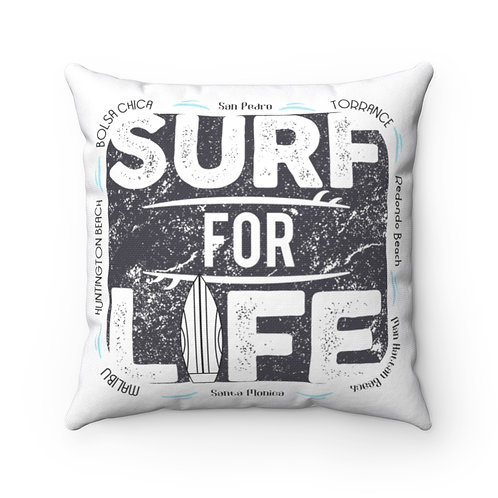 Pillow Surf For Life White South Bay | Los Angeles | OC