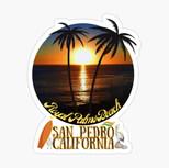 San Pedro Royal Palms Beach-glossy-stick