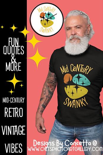 Mid Century Swanky Male Model Concetta D