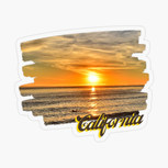 San Pedro California Sunset Surfer Royal Palms Beach