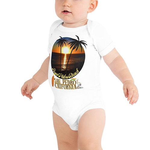 San Pedro California Onesie T-Shirt | Baby Gift, Royal Palms Bella + Canvas