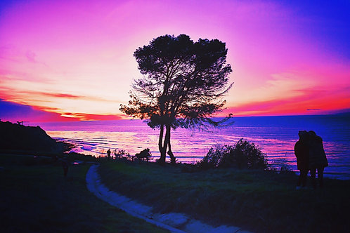 Note Card Sunset 31 Photography Palos Verdes, CA By Concetta Ellis