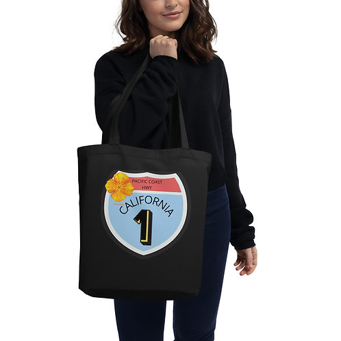 Pacific Coast HWY California 1 Eco Tote Bag