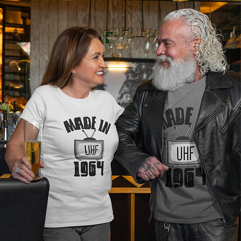 Made in 1964 T-Shirt | Retro Tee | Vintage Tee | 1964 Gift | UHF TV