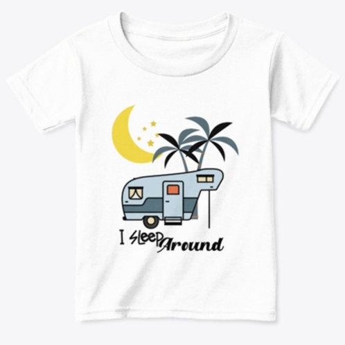 Classic Camping T-Shirt Toddler I Sleep Around TS