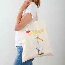 Cotton Tote Bag Love Pelicans By Concett